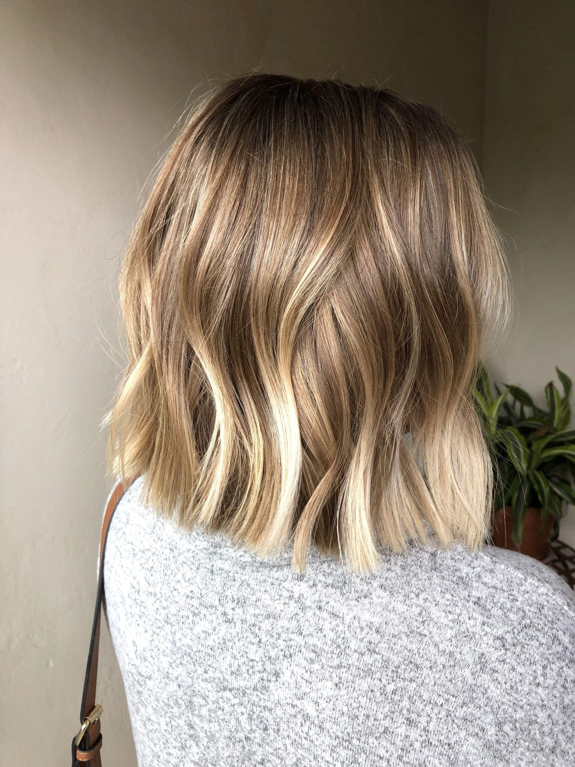 blondes Haar über 30