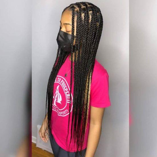 Holen Sie sich Tribal Braids Frisuren für ein besonderes ethnisches Gefühl im Jahr 2021
