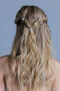Clip 3 lange Haare