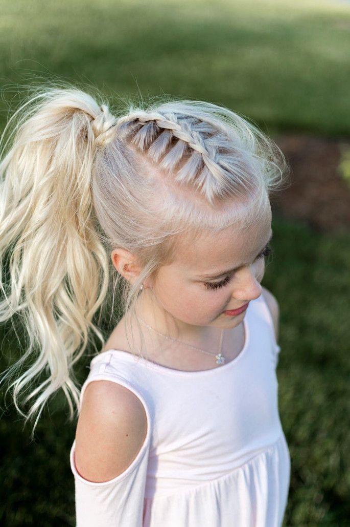 Coole Frisuren für kleine Mädchen