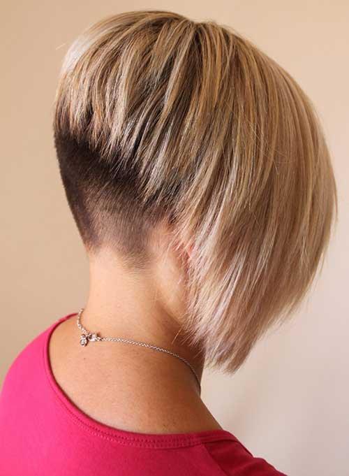 Rasierter Bob-Haarschnitt - Kurze Frisuren 2021 weiblich