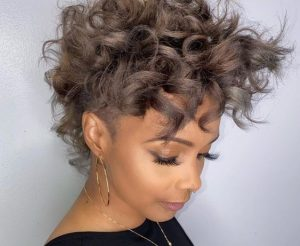 Bouncy Curls Textur