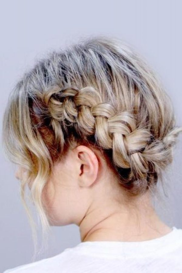 Dutch Braid Hairstyle 2020