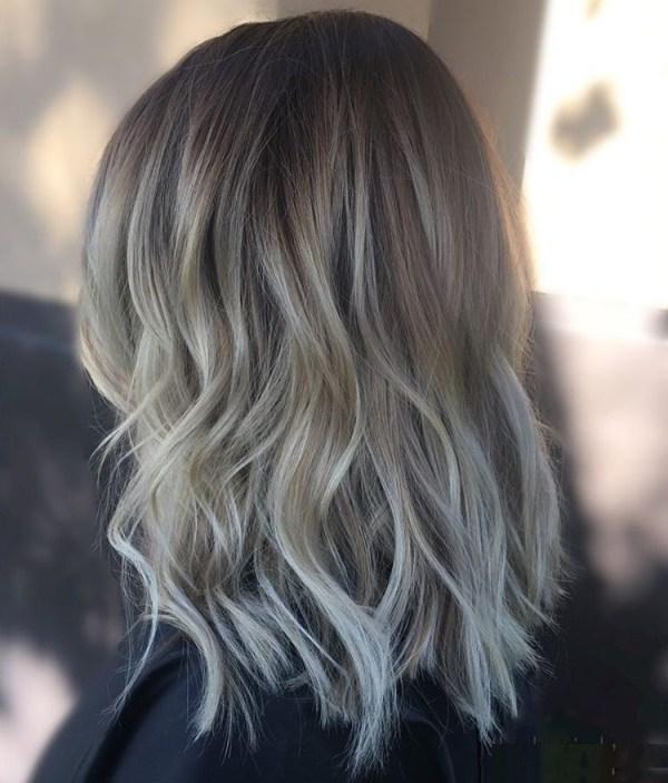 Medium brown hair styles women 2021