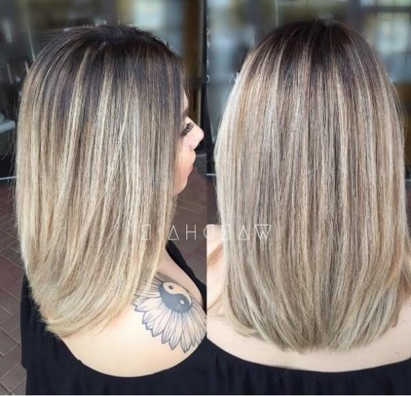 Slick long bob for medium haircuts for women 2021