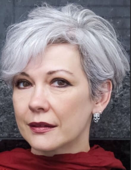 Frisuren für runde Gesichter über 60
