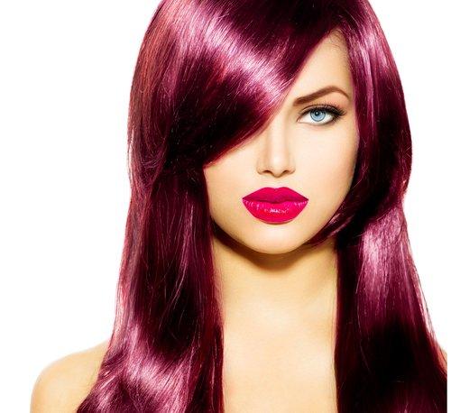 kühle rote Haarfarbe