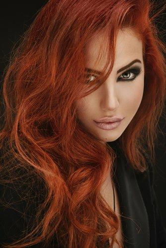warm-rote Haarfarben