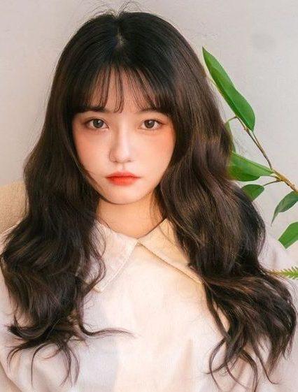 koreanische Frisur für Frauen