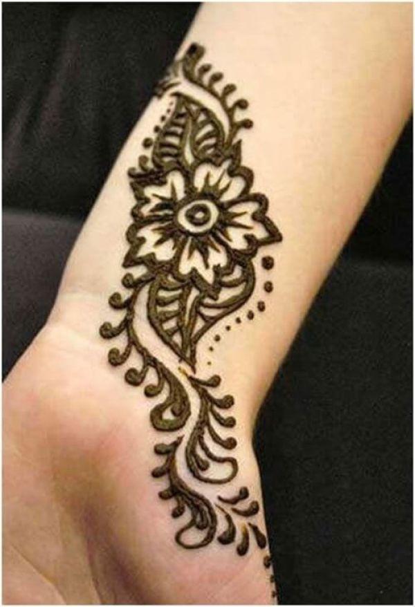 Tattoo-Stil Arabisch Mehndi