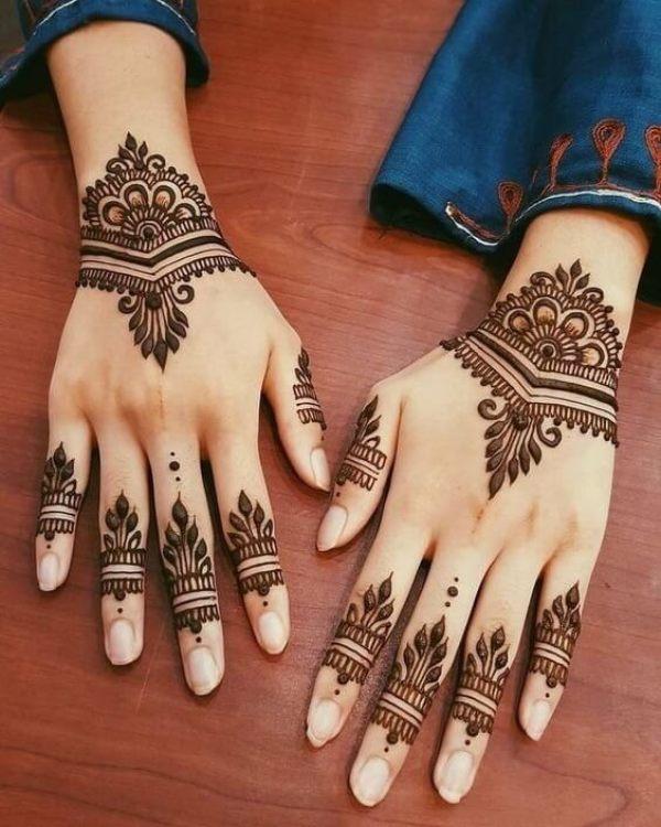 Arabisches Design mit purer Eleganz an den Fingern