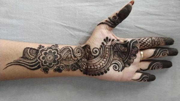 Indo Arabisch Mehendi Designs