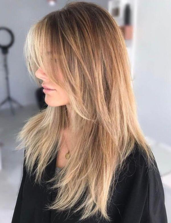 Zottelige Schichten Frisuren 2020