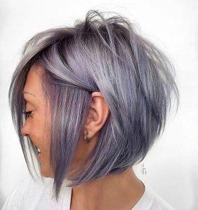einzigartiges lila grau