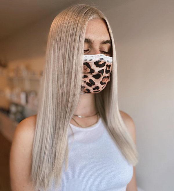 Frisuren für blondes Haar