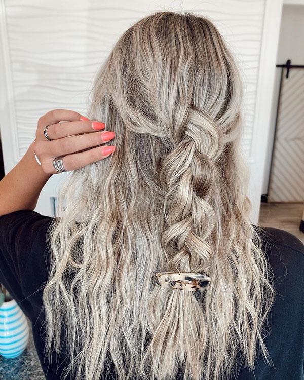 Bilder von blonden Haaren