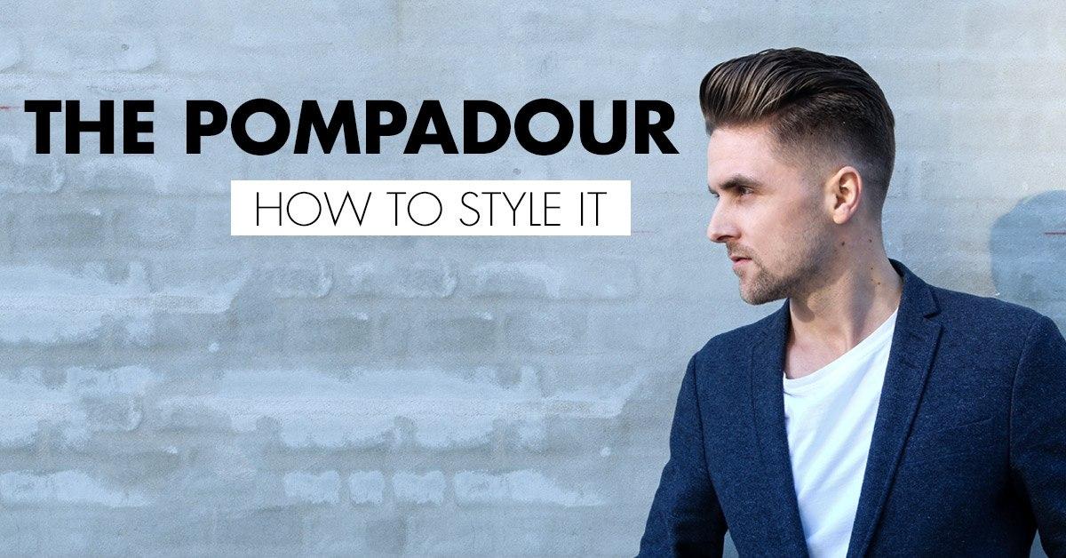 Wie man den beliebten Pompadour bekommt