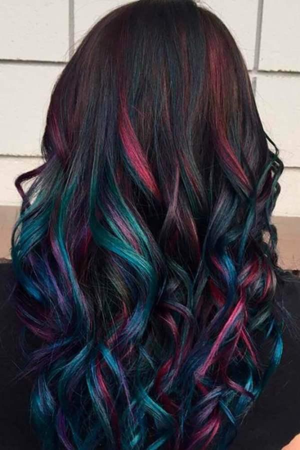 Regenbogen-Haarschnitte 2019