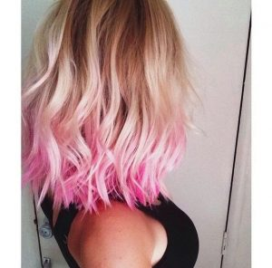 Pink Tip Ombre