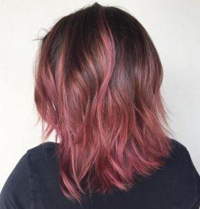subtile rosa Ombre