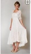 Hochzeitskleid für über 60