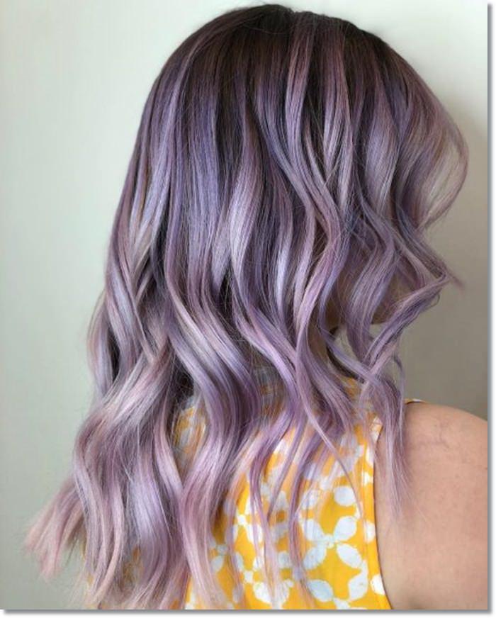 Lavendelhaar
