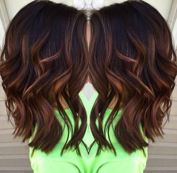 Brown Layered Medium Hairstyles 2021 female