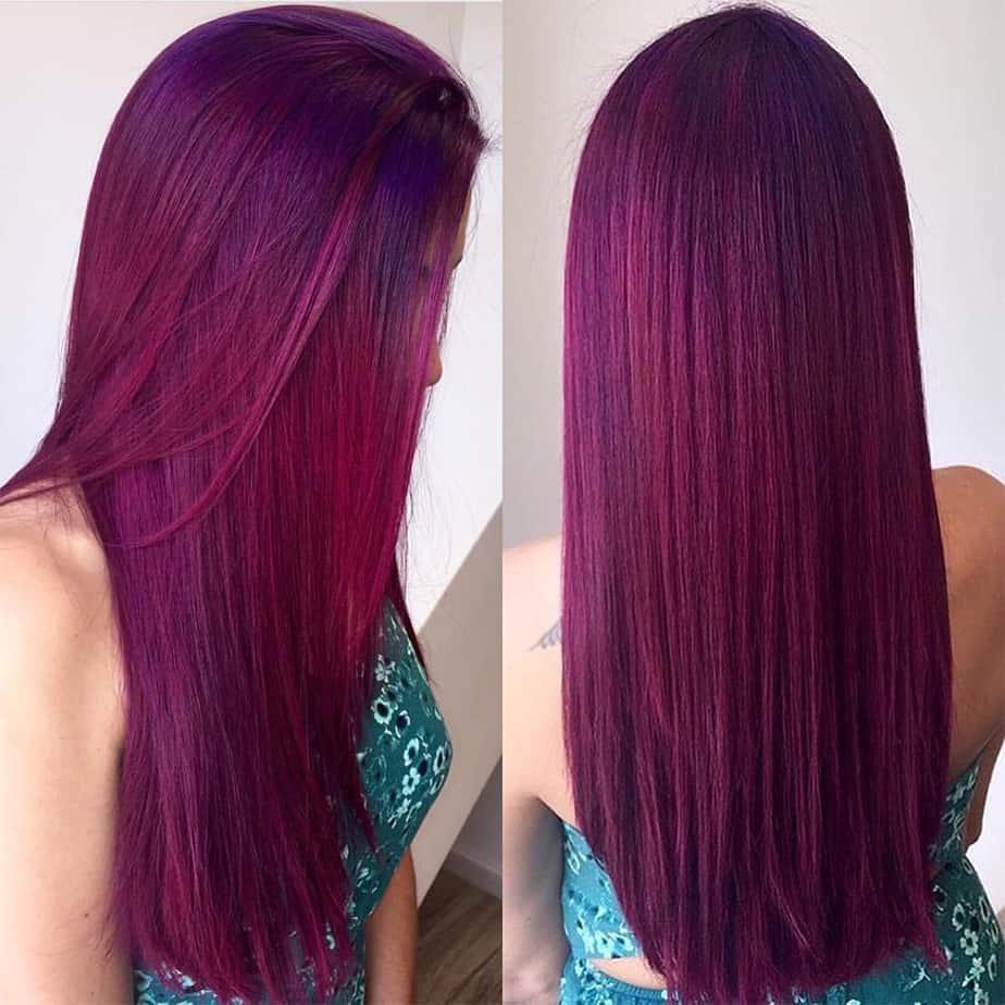 Hell-kastanienbraune Haarfarbe-kastanienbraune Haarfarbe
