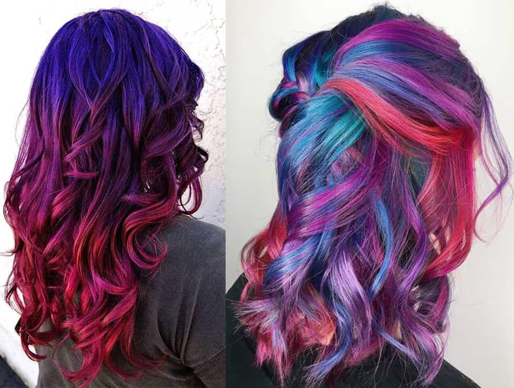 Galaxy-Kastanienbraun-Haarfarbe-Haarfarbe-Ideen-Kastanienbraun Haarfarbe