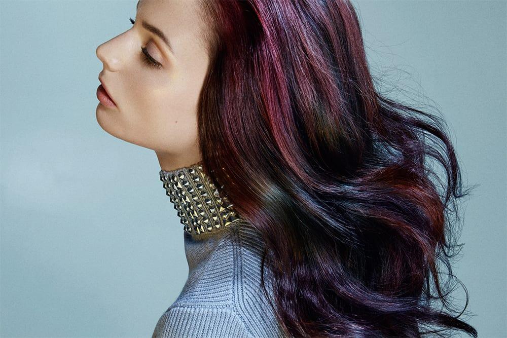 Öl-Slick-Kastanienbraun-Haarfarbe-Ideen-Kastanienbraun Haarfarbe