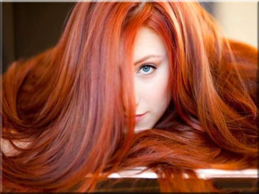 Rote Haartöne-Haarfarben-Trends 2017-Haarfarben-Ideen-Haartrends-2017-Rote Haartöne