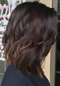 kurzwelliges Mokka-Haar