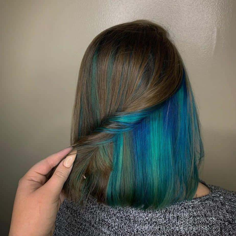 Grüne Haarfarbe: 24 trendigste Farboptionen, die Sie ausprobieren können