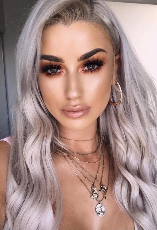Falsche Wimpern Make-up-Tipps