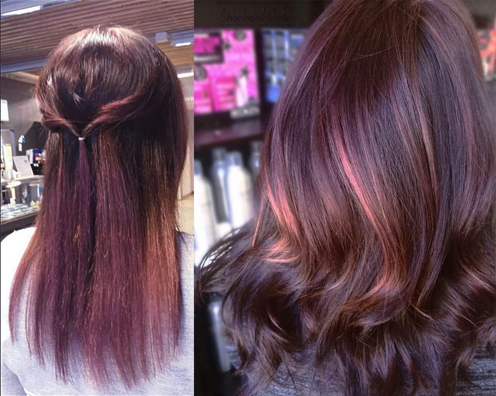 Schokolade-lila-Haare-Haarfärbe-Ideen-Fantasie-Haarfarbe-auf-Tigerauge-Schokolade-lila-Haarfarbe-Ideen-Fantasie-Haarfarbe