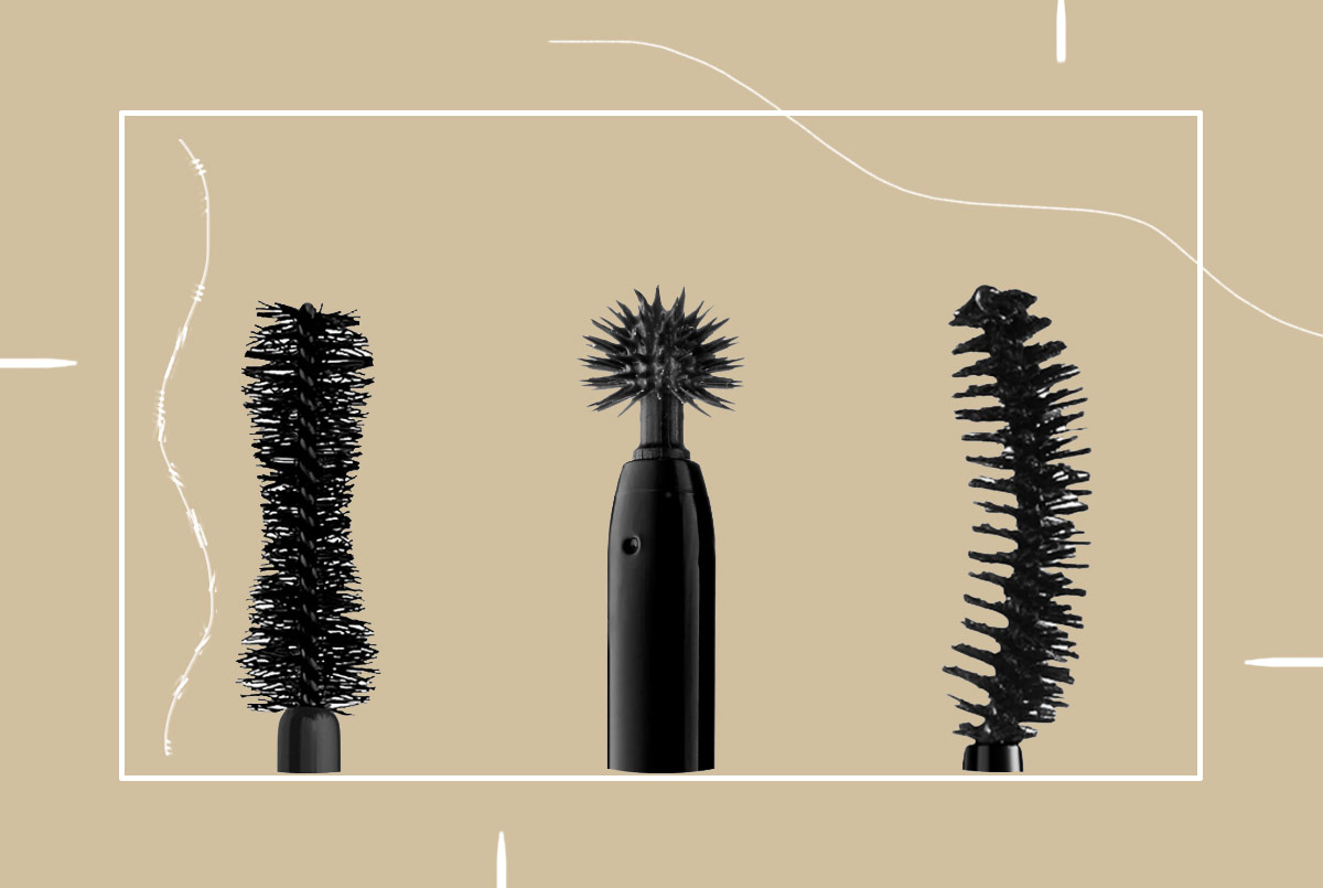 Arten von Mascara-Stäben / Bürsten