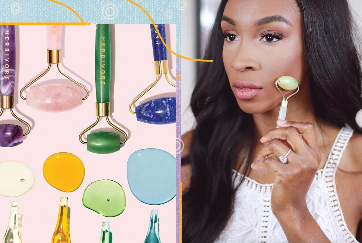Vorteile von Face Roller / Jade Roller