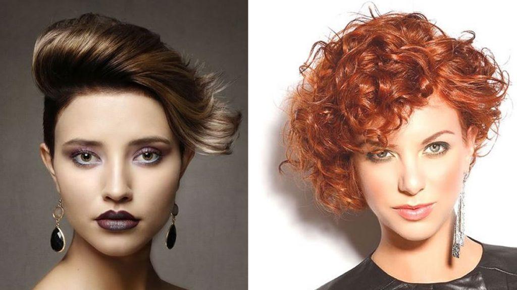 Asymmetrische Haarschnitte und Frisuren in den Jahren 2021-2022