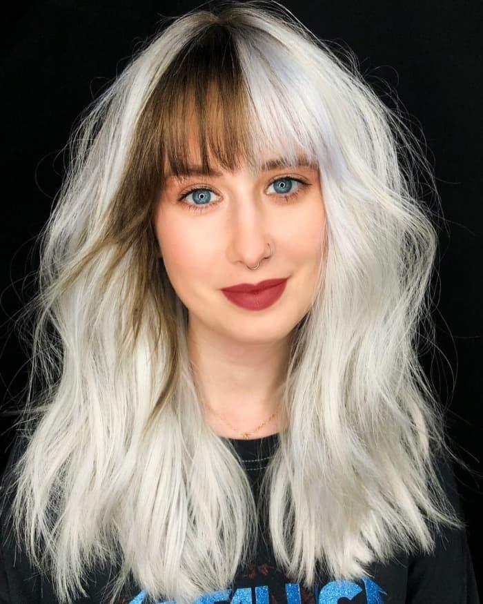 wie man weiße Haare bekommt