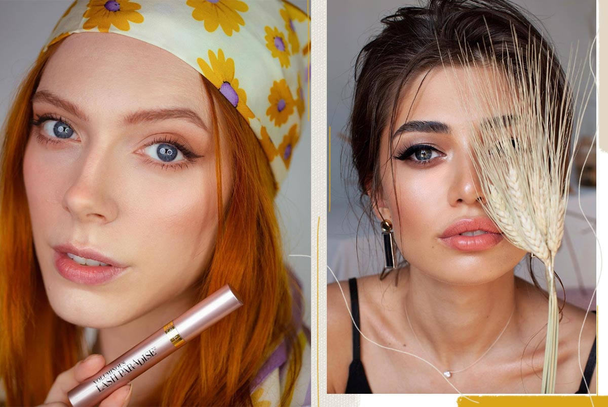 So entfernen Sie Mascara