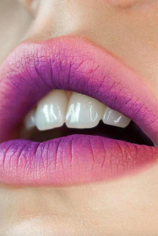 Verwendung eines Lip Primers