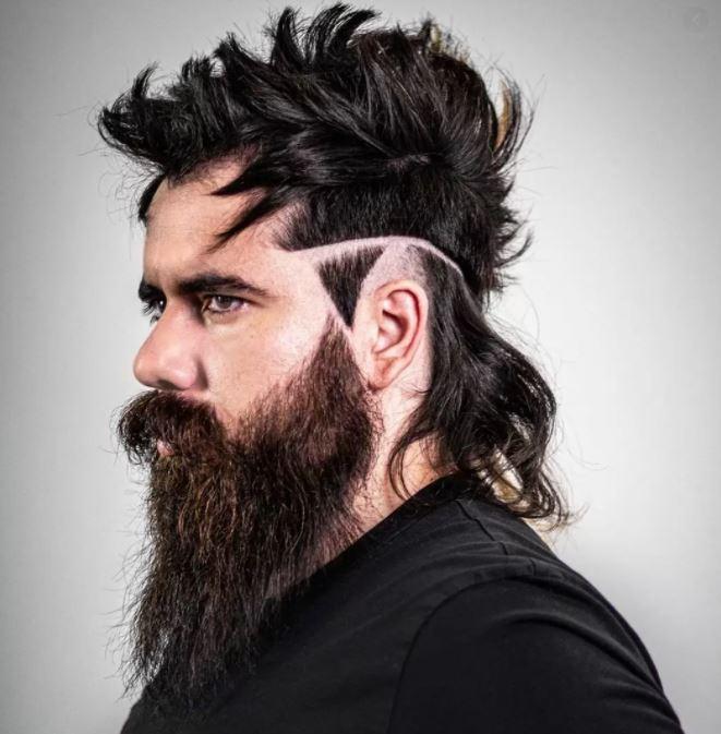 Unterschnittene lange Haarschnitte für Männer 2021-2022