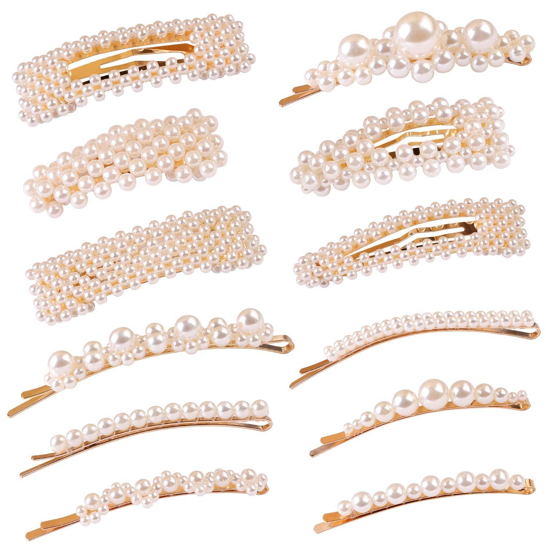 E-accexpert Perle Haarspange Set Amazon