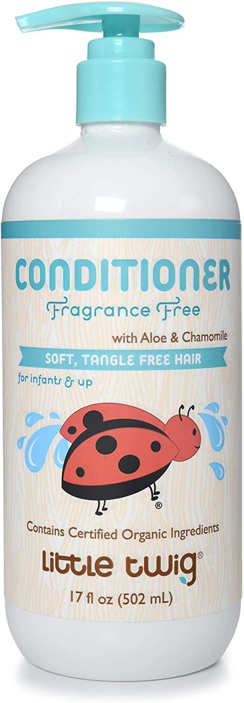Little Twig Conditioner, natürliche pflanzliche Formel, frei von Duftstoffen, 17 fl oz