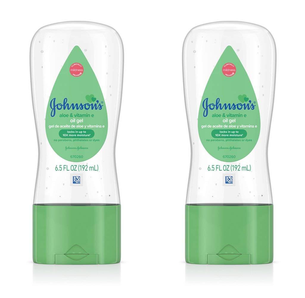 Johnsons Baby Gel Öl mit Aloe & Vitamin E.