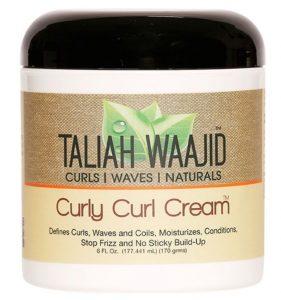 Taliah Waajid Curly Curl Cremes für Haare mit geringer Porosität