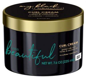 Mein Schwarz ist schön Curl Cream Sulfatfrei und Parabenfrei Curly And Coily Hair Products