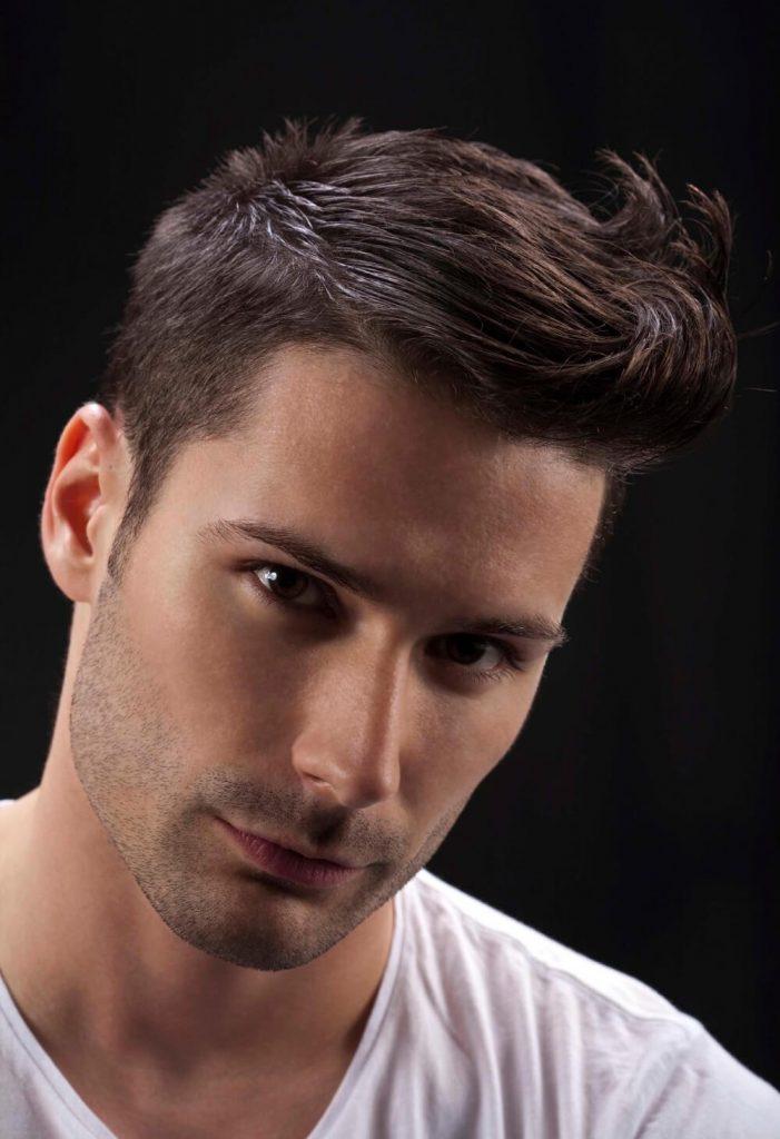 Spiky Quiff Haircut - Herrenfrisuren 2021