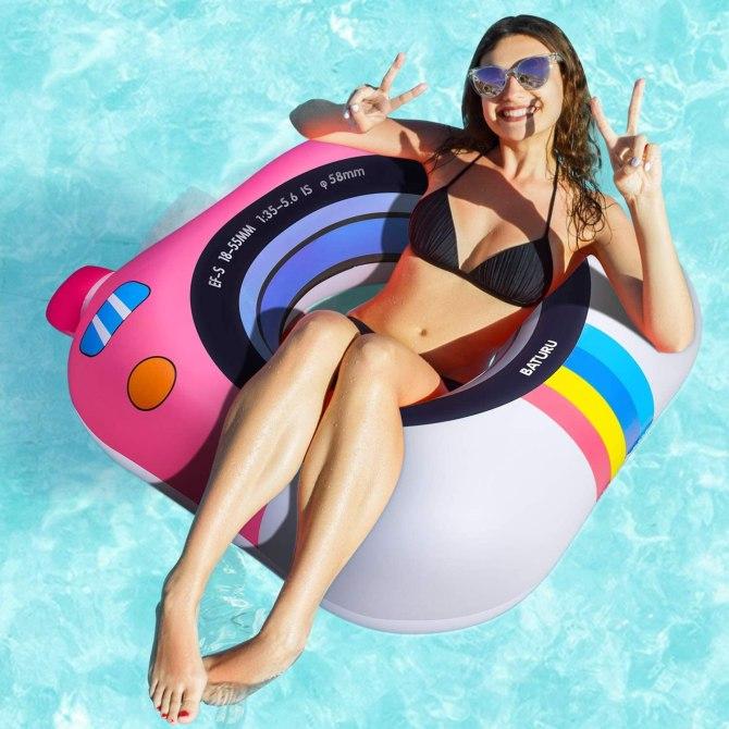 Schwimmring Pool Float Spielzeug für Erwachsene