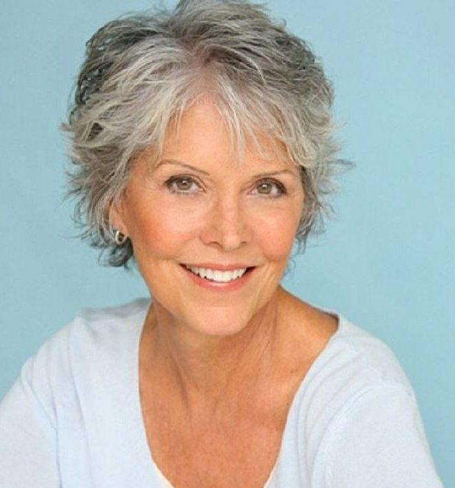 Feine Frisuren für Senioren mit dünnem Haar